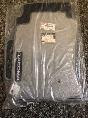 Toyota Tacoma Dcab Floor Mats Light Charcoal BRAND NEW for Sale in Perris, CA