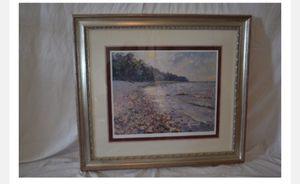 Framed print by Pierre Bittar Harbor Springs Beach 17 of 450 for Sale in Grosse Pointe Farms, MI