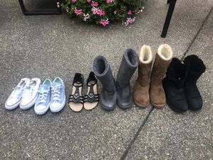 Girls Uggs, Converse, Sandals Size 4-5 for Sale in McKees Rocks, PA