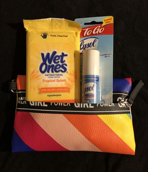 Power Petite Bundle featuring Lysol to Go Travel Spray for Sale in Washington, DC