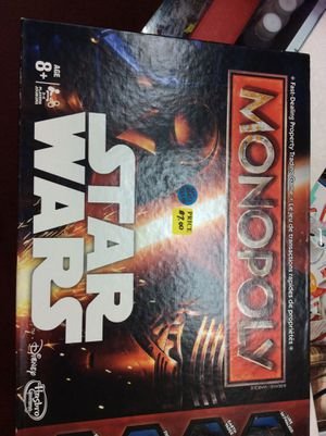 Star Wars Monopoly for Sale in Columbus, OH