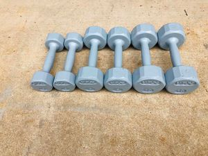 Dumbbells - Weights - Barbell - Work Out - Exercise - Gym Equipment - Training for Sale in Downers Grove, IL