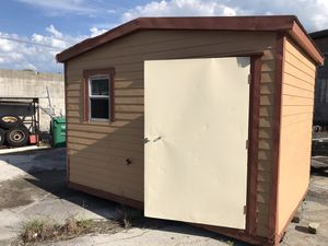 8x12 lark storage shed ! transportation and installation! included for Sale in OCEAN BRZ PK, FL