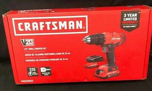 CRAFTSMAN V20 Cordless Drill/Driver for Sale in Dallas, TX