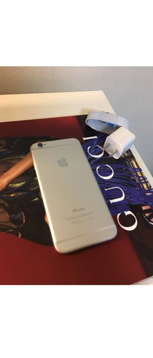 (30 DAY WARRANTY) 🚨PRICE IS FIRM💥Unlocked to any carrier Silver iPhone 6 16GB for Sale in Washington, DC