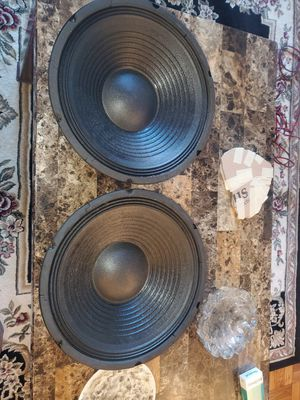 2 12inch Technical Pro LOUDSPEAKERS 800watts each speaker perfect for chuchero boxes for Sale in The Bronx, NY