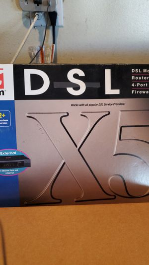 Dsl modem - zoom for Sale in Vista, CA