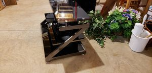 Tempered Glass and Metal TV Stand for Sale in Haymarket, VA