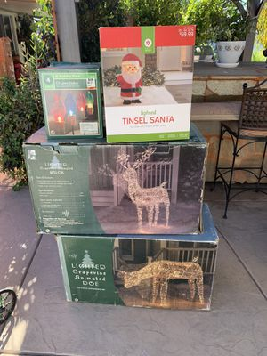 Christmas decorations for Sale in Menifee, CA