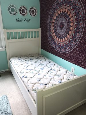 IKEA twin size bed with FREE mattress for Sale in Springfield, VA