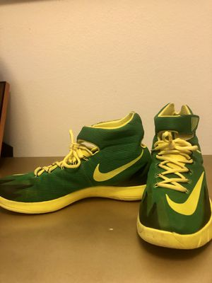 Nike Zoom Basketball shoes size 12 for Sale in Windermere, FL
