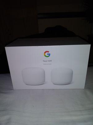 Google Nest wifi Router + Point for Sale in Ontario, CA