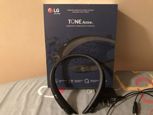 LG Tone Active Bluetooth Headset for Sale in Stockbridge, GA
