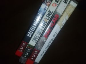 4 ps3 games for Sale in Coconut Creek, FL