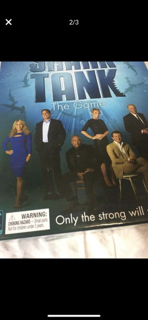 Shark Tank Game for Sale in Newcastle, OK
