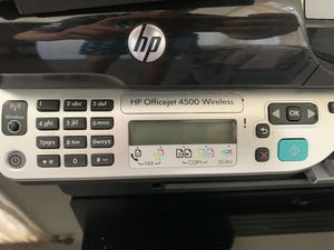 Hp printer 4500 Wireless for Sale in East Stroudsburg, PA