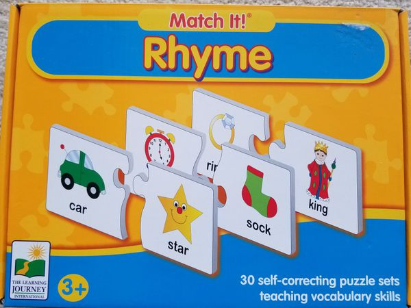 Preschool learning puzzle games