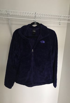 Women's Purple Fleece North Face jacket, size Large for Sale in Gaithersburg, MD