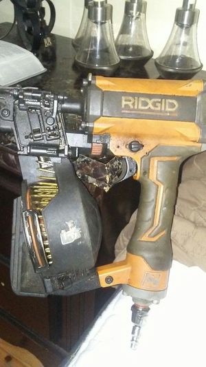 Ridgid nail gun for Sale in Cleveland, OH