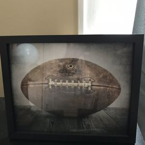 Framed football photo for Sale in Salt Lake City, UT