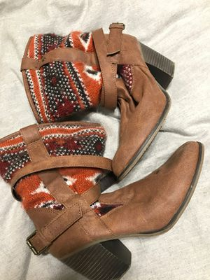 Women size 8 cowgirl boots for Sale in Upland, CA