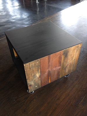 Handmade distressed wood end tables for Sale in Tempe, AZ