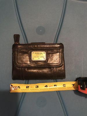 Black Fossil leather wallet for Sale in Ridgefield, WA