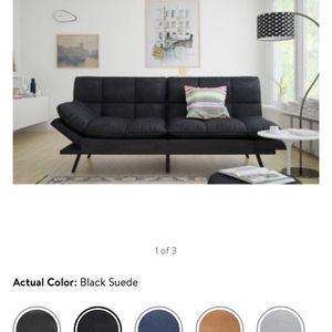 Mainstay Memory Foam Futon Sofa Bed for Sale in Aurora, IL