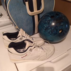 Bowling Ball, Bag and Shoes for Sale in Garland, TX