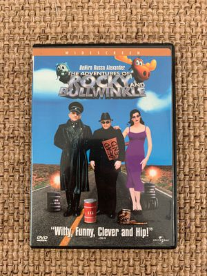 The Adventures of Rocky and Bullwinkle Widescreen DVD Like New comedy movie for Sale in Hazlet, NJ