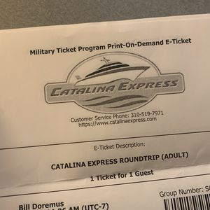 Catalina Express Ferry Tickets for Sale in San Diego, CA