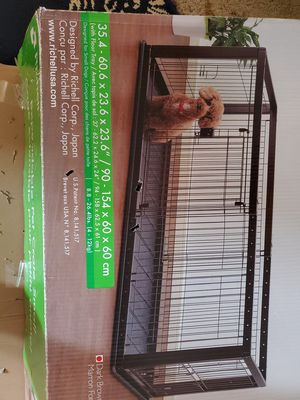 Expandable dog crate for Sale in Bakersfield, CA