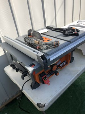 RIDGID 15 Amp 10 in. Table Saw with Folding Stand for Sale in La Habra, CA
