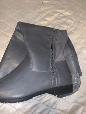 Grey Ashley Stewart Boots for Sale in Los Angeles, CA