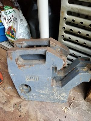 Kubota suitcase weights for Sale in Parkton, MD