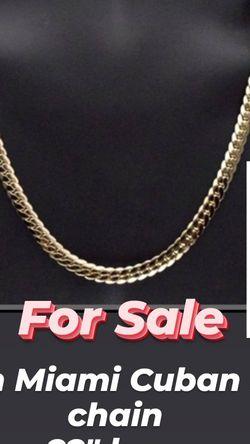 Miami Cuban Chain for Sale in Woodbridge,  VA