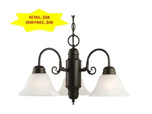 Millbridge 3-Light Oil Rubbed Bronze Chandelier by Design House NEW for Sale in Fort Lauderdale, FL