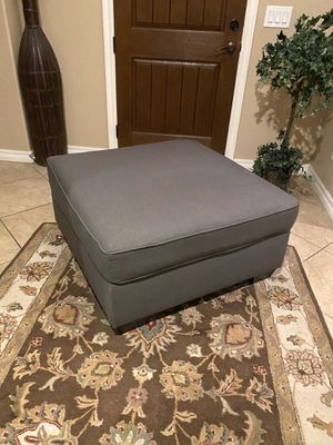 Grey ottoman for Sale in Chandler, AZ