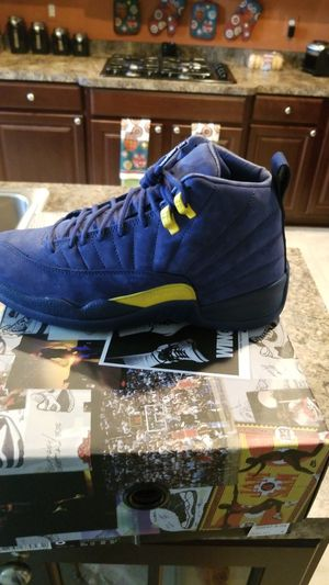 Jordan 12 Michigan Nrg size 8 1/2 for Sale in Oxon Hill, MD