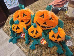 Pumpkin beanie babies for Sale in Las Vegas, NV