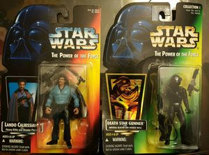 STAR WARS- The Power of the Force Action Figure (two) for Sale in Woodbridge, VA