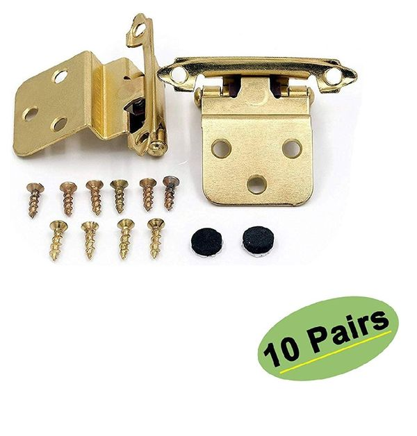 Kitchen Cabinet Hardware Hinges Inset 10 Pairs