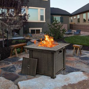 Square Propane Fire Pit for Sale in Los Angeles, CA