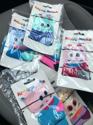 Medias de niños LED en sus ojitos. TENGO 3000 juegos. for Sale in Miami Beach, FL
