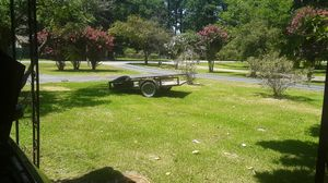6x10 bumper pull trailer heavy duty great floor made right for Sale in Mabelvale, AR