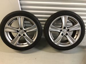 """2011 Lexus IS 250 """" Only 2 Rear Wheels with Tires """" for Sale in Lake Worth, FL"""