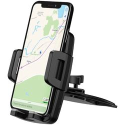 Mpow M3.1-Dual Sided Grip CD Slot Phone Mount with Qi Wireless Charging, Dual USB Charging, Universal Phone Car Mount, iPhone, Galaxy, Android Compati for Sale in Burbank,  CA