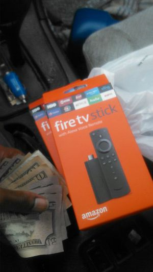Quickly jumped BACK ON DECK. AMAZON FIRE 80 stick for Sale in Atlanta, GA