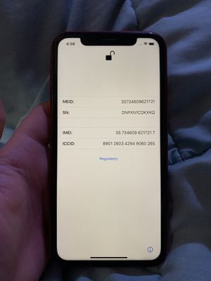 iPhone XR unlocked 64GB for Sale in Kissimmee, FL