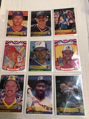 1984 donruss baseball cards 18 card lot includes stars and diamond kings . Additional discounts available for multiple items purchased for Sale in Beltsville, MD